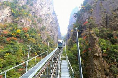 Cable Cars in Huangshan Mountain