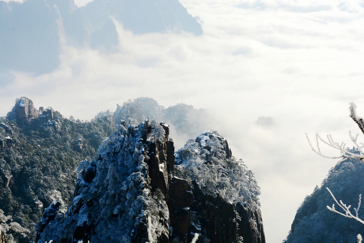 Sea of Clouds in Mount Huangshan